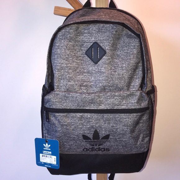 67670f70e3 NWT Adidas Backpack in Onix Jersey